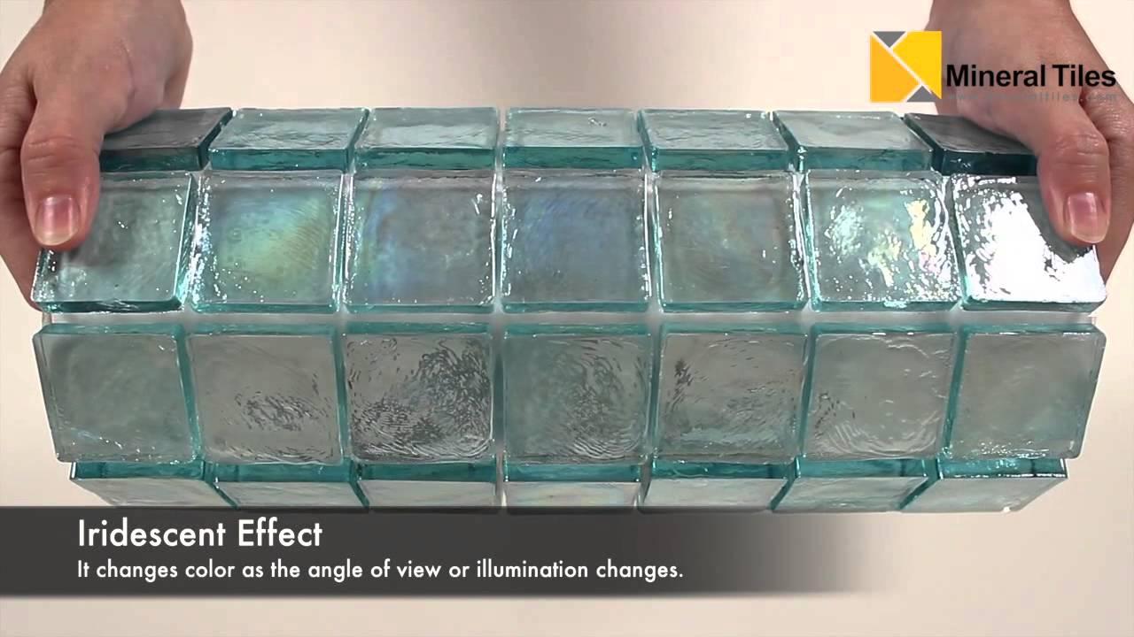 iridescent glass mosaic tile aqua 2x2 120keluto2121
