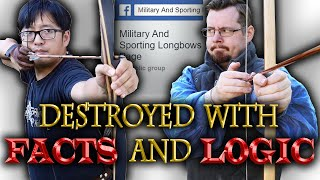 Shadiversity DESTROYS lies of archery critics with FACTS and LOGIC! Reply to NUSensei & Ian Coote
