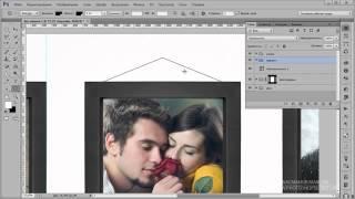 Фотошоп рамка для фото