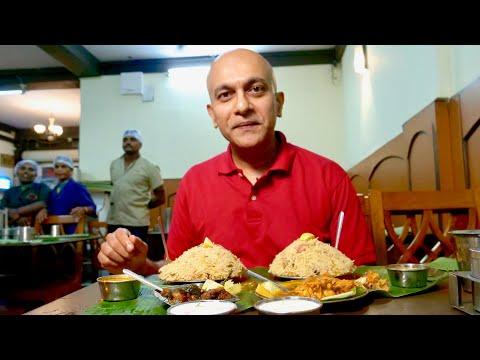 mysuru's-favourite-andhra-style-biryani-at-hotel-rrr-|-chilli-chicken-|mutton-pepper-fry-|-biryani