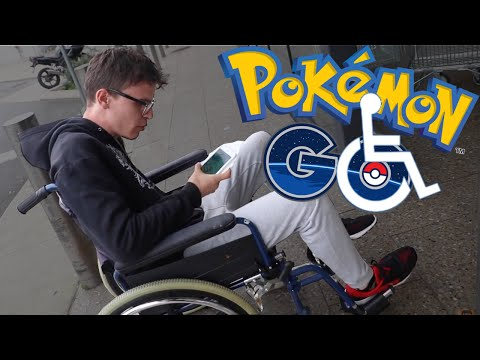 Thumbnail: Disabled Pokemon Go - Eevee + Zubat