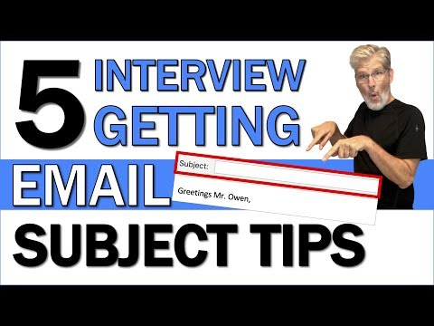Email Subject For Sending Resume   5 Interview Getting Email Subject Tips
