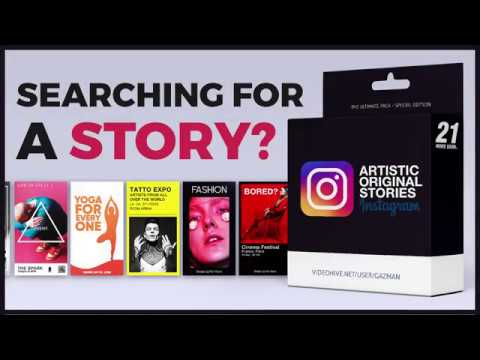 Artistic Instagram Stories (Tutorial) after effects thumbnail