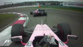 Video Best Onboards 2017: Sergio Perez's Double Overtake | Chinese Grand Prix download MP3, 3GP, MP4, WEBM, AVI, FLV Oktober 2018