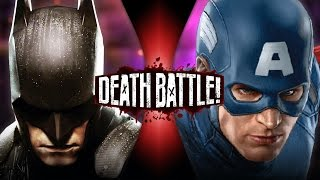 Batman VS Captain America (DC VS Marvel) | DEATH BATTLE! thumbnail