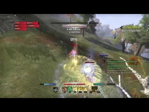 Eso- pvp stamplar|Magic Sorcs Stress Me The Hell Out