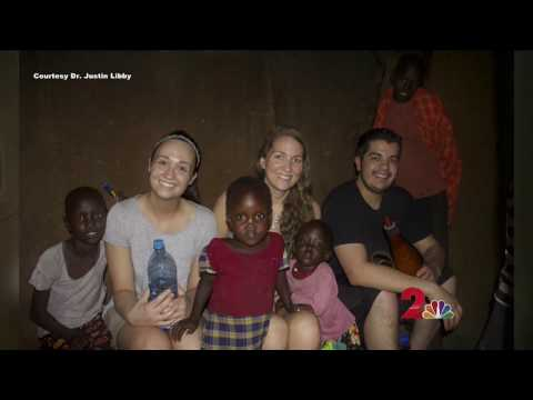 Volunteer Trip in Africa Featured on Channel 2 News