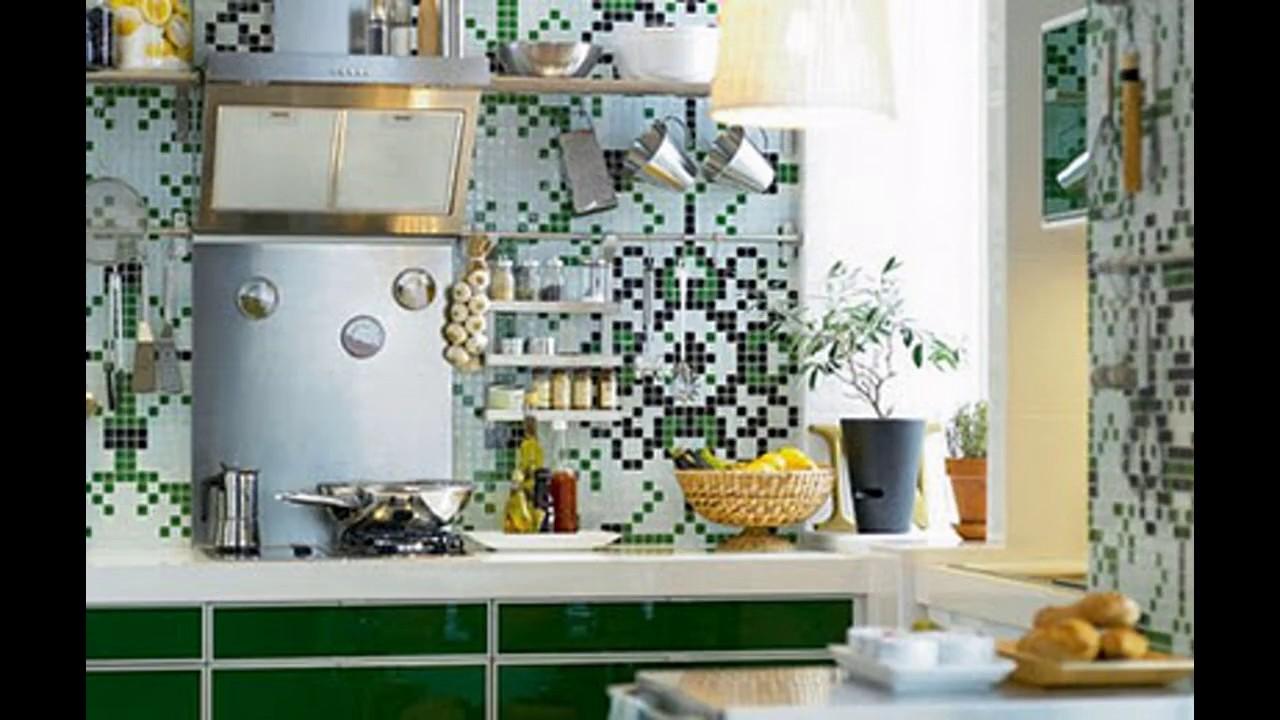 Ideas de papel tapiz para la cocina youtube - Papel para paredes de cocina ...