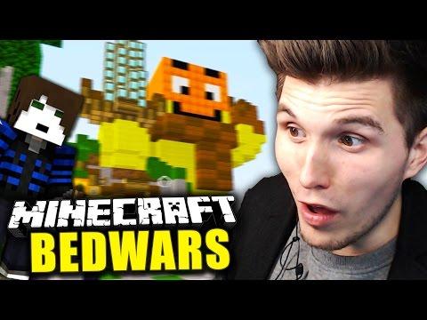 DIE PALUTEN BEDWARS MAP! & DRECKIGER FLY HACKER?! ✪ Minecraft Bedwars Woche Tag 187 mit GLP!