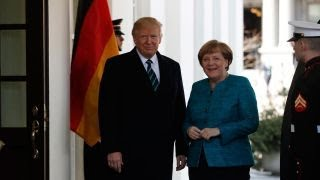 German Chancellor Merkel open to efforts to import US natural gas