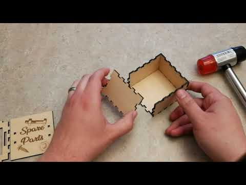 New Slide box design and helpful laser cut box assembly tips