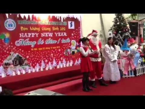 Noel tại Mầm Non B Hà Nội
