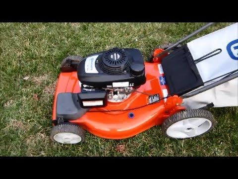 Husqvarna Lawn Mower Model Hu700f Honda Engine Final Look Startup March 5 2017 You