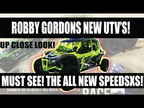 Robby Gordons New UTV COMPANY!! FIRST LOOK!