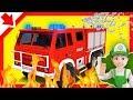 Camión de bomberos. Carros de bomberos para niños Carros Dibujos animados de bomberos en español.