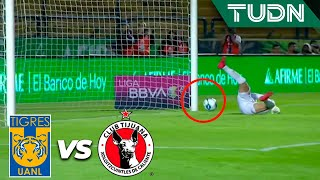 ¡No entra el balón! | Tigres 0 - 0 Tijuana | Liga MX Femenil - 4tos de Final (v) - AP 19 | TUDN