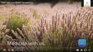 7/15: Distress Tolerance - Radical Acceptance