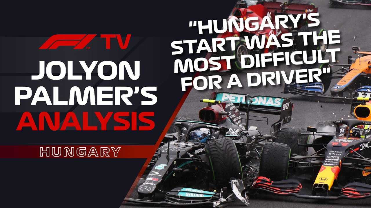 What On Earth Happened At Turn 1 In Hungary?! | Jolyon Palmer's F1 TV Analysis