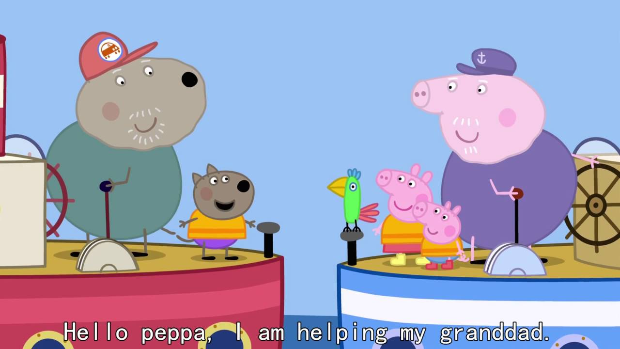 Peppa Pig - The Biggest Muddy Puddle in the World (50 episode / 3 season) [HD]
