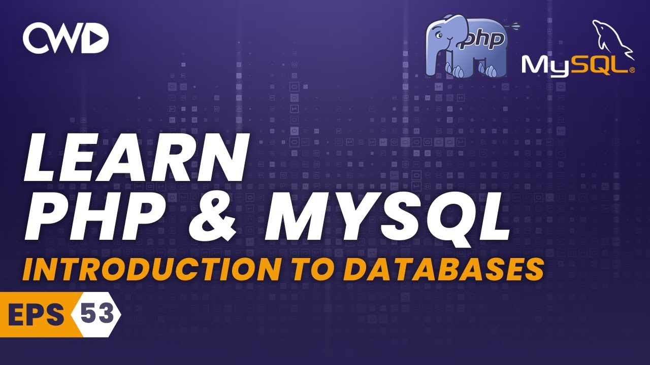Introduction to Databases - PHP for Beginners - PHP Programming