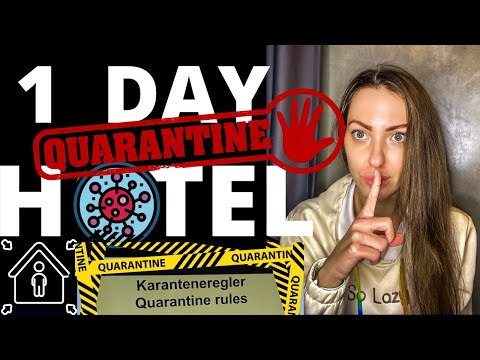 TYPICAL DAY IN QUARANTINE HOTEL: OSLO, NORWAY -  How to Keep Yourself Busy for 10 days