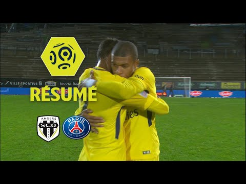 Angers SCO - Paris Saint-Germain (0-5)  - Résumé - (SCO - PARIS) / 2017-18