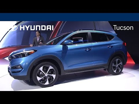 Presenting the All New 2016 Hyundai Tucson