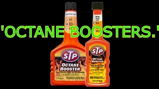 Octane boosters