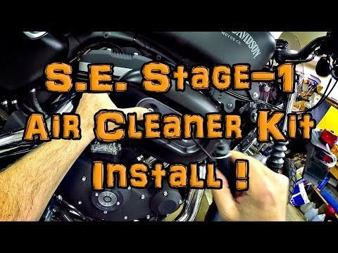 New Mod! - SE Stage-1 Air Filter Kit Install! - Iron 883 | ShopTalk