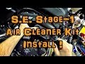 New Mod! - SE Stage-1 Air Filter Kit Install! - Iron 883 | ShopTalk