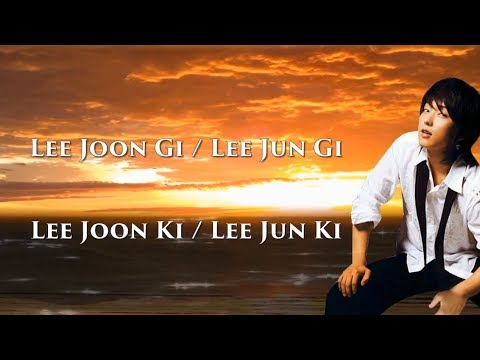 Дорамы и Фильмы Ли Джун Ги / Ли Джун Ки (Lee Joon Gi / Lee Jun Gi / Lee Joon Ki / Lee Jun Ki) 이준기