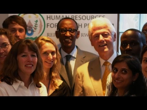 Rwanda's Bright Future: Geisel and Clinton Health Build Model