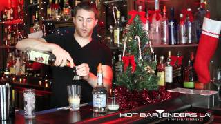 Holiday Drinks - Christmas Cocktails - How To Make The Happy Holiday's Cocktail