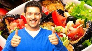 Блюдо праздничного стола салат Антипасти рай в тарелке Вкусный салат легко и просто