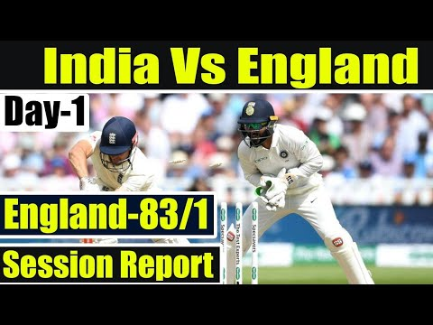 India Vs England, 1st Test: England In Control At Lunch