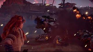 Horizon Zero Dawn Rockbreaker Fight - Epic Boss Battle