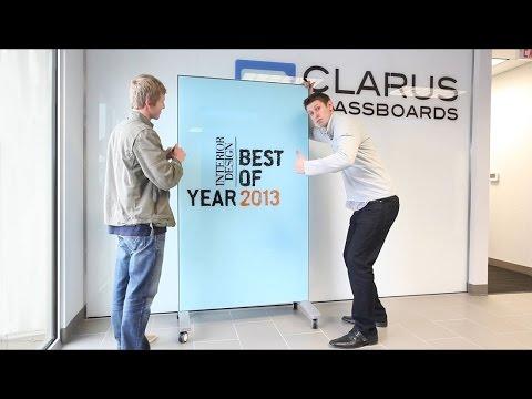 Clarus Glassboards Wins Interior Design Best Of Year Youtube