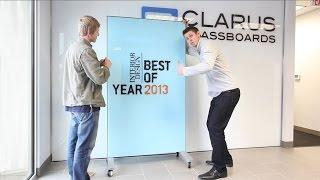 Clarus Glassboards Wins Interior Design Best Of Year!!