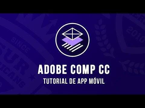 Adobe Comp CC 2019 | Tutorial para App móvil | Aprende con SurAmericans thumbnail