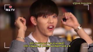 [ENG SUB] 170615 #DAEHYUNxJONGUP HeyoTV (Daehyun Focus Behind 1 & 2)