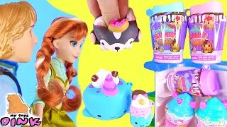 СКВИШИ ЕДИНОРОГИ И 4 Серия Smooshy Mushy - UNICORN SQUISHY + FROZEN ANNA and KRISTOFF