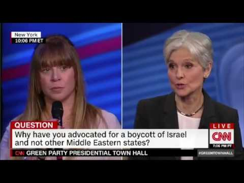 Jill Stein on BDS and Israel