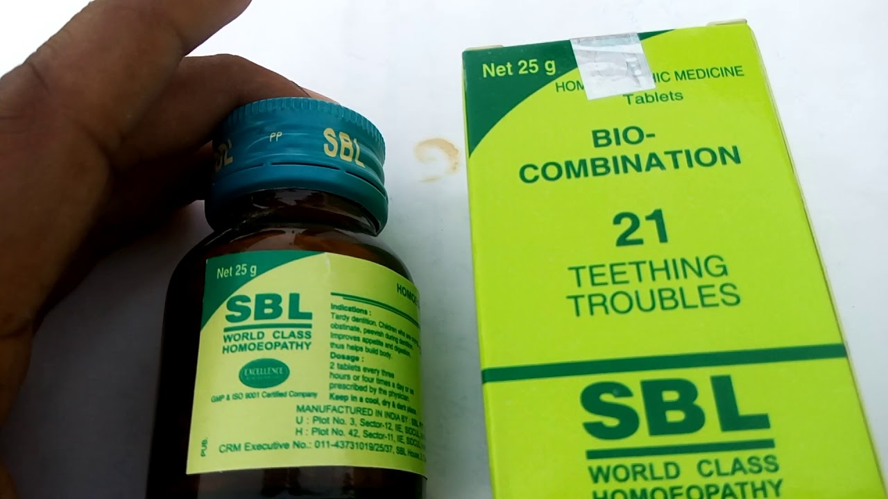SBL - 21 TABLET USE teeth trouble & no side effects by Public Welfare &  Health Organisation