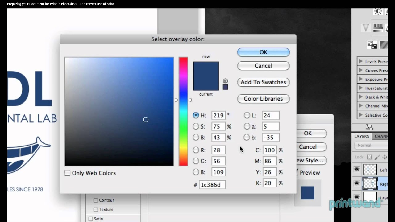How To Check Pms Vs Cmyk Colors In Photoshop Printing Tutorial 27