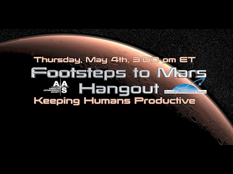 Keeping Humans Productive in Space