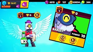MAX POWER, 0 TROPHIES + DREAM MAP on Barley! // BrawlStars