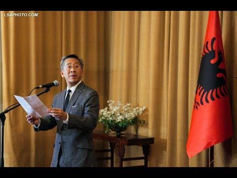 Report TV - Ambasadori Donald Lu mesazh në Twitter për vendimin e Llallës