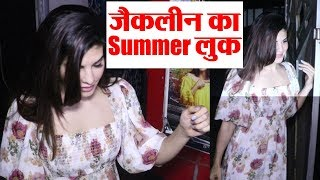 Jacqueline Fernandez looks gorgeous in summer dress: Watch | Boldsky
