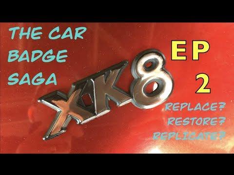 Restore A Plastic Car Emblem.