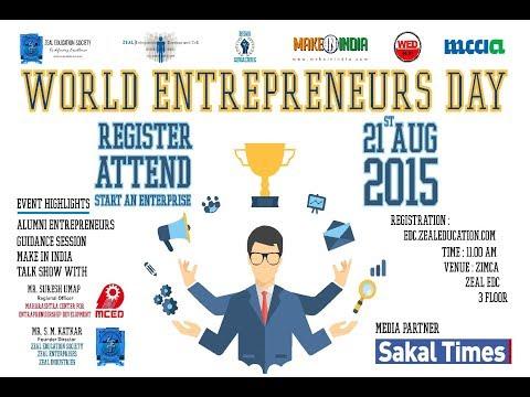 World Entrepreneur Day 2015